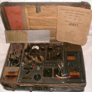 B2 Spy RADIO Set from WW2 in a suitcase built at Marconi's, New Street, Chelmsford