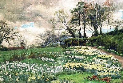 Ellen Willmott's Garden in Spring