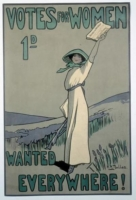The cover of a suffrage pamphlet