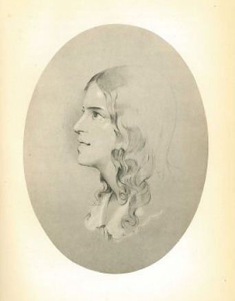 Black and White sketch of the composer's face