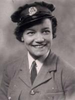 Lilian Bader in her WAAF uniform
