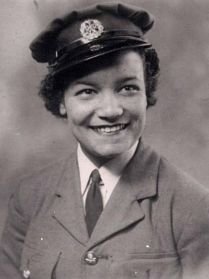 Lilian Bader in her WAAF uniform