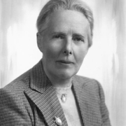 A portrait photo of Evelyn Baxter